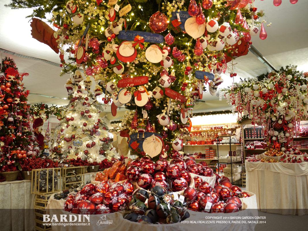 Addobbi Natalizi Vendita On Line.Paese Del Natale 2014 Bardin Garden Store
