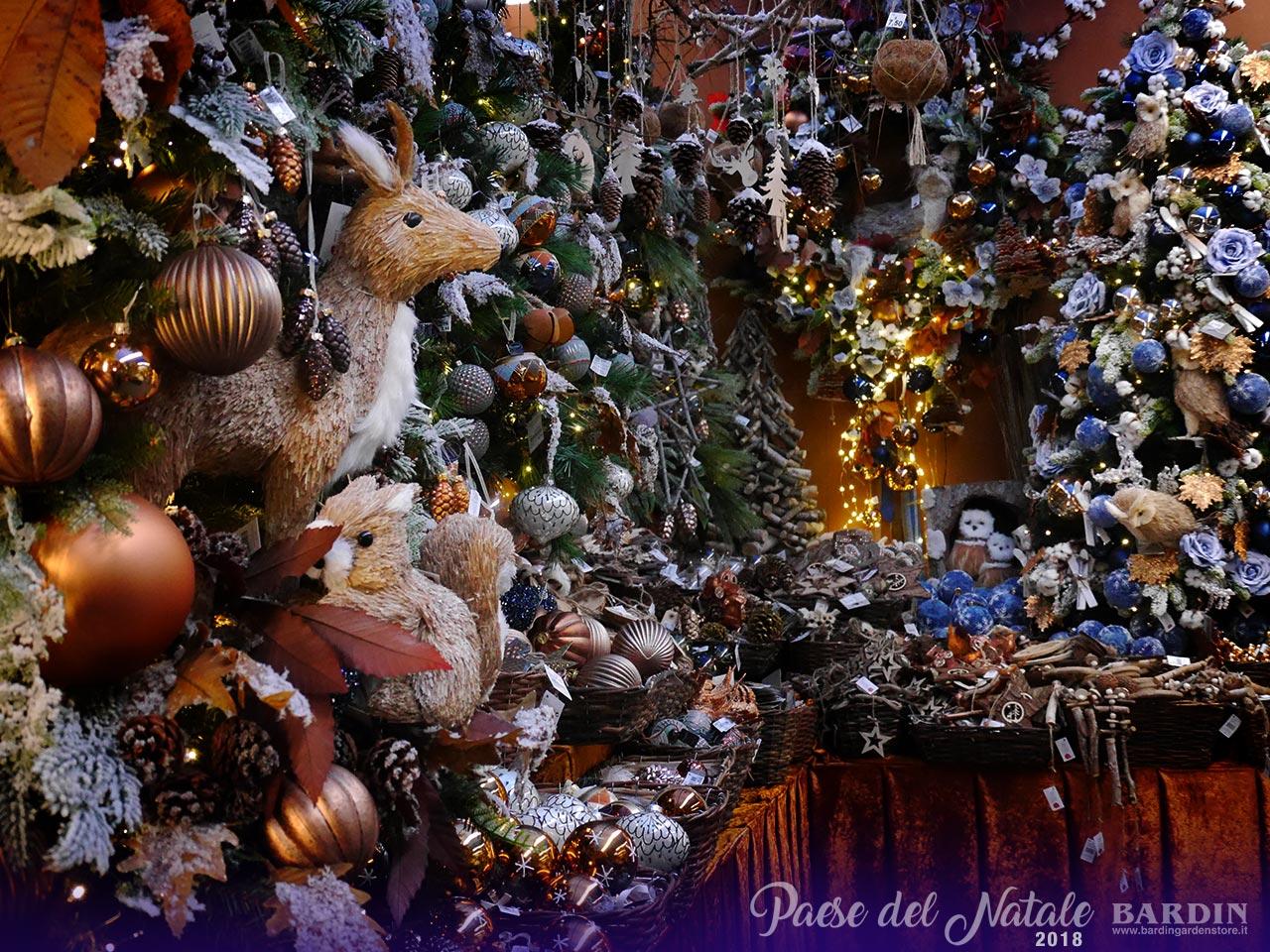 Il paese del natale di bardin garden store for Obi addobbi natalizi