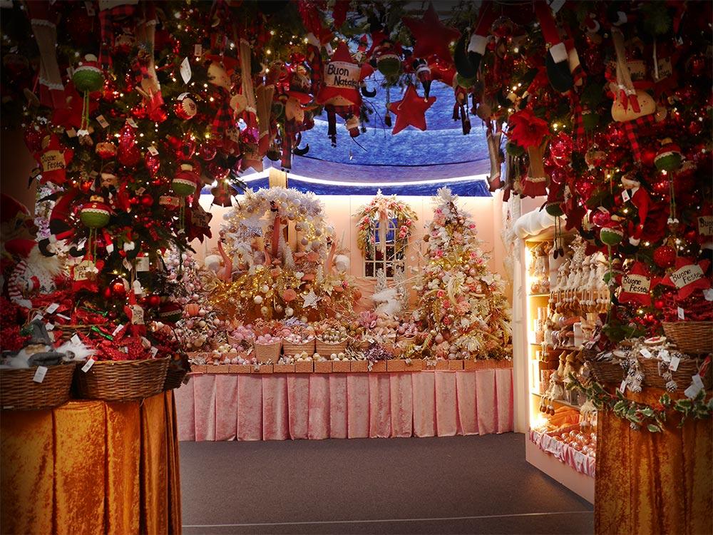 Decorazioni Natalizie Esterno Casa.Addobbi Natalizi Vendita A Treviso Paese Del Natale Bardin Garden