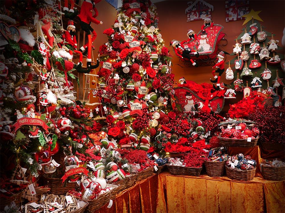 Addobbi natalizi vendita a treviso paese del natale for Decorazioni da tavolo natalizie