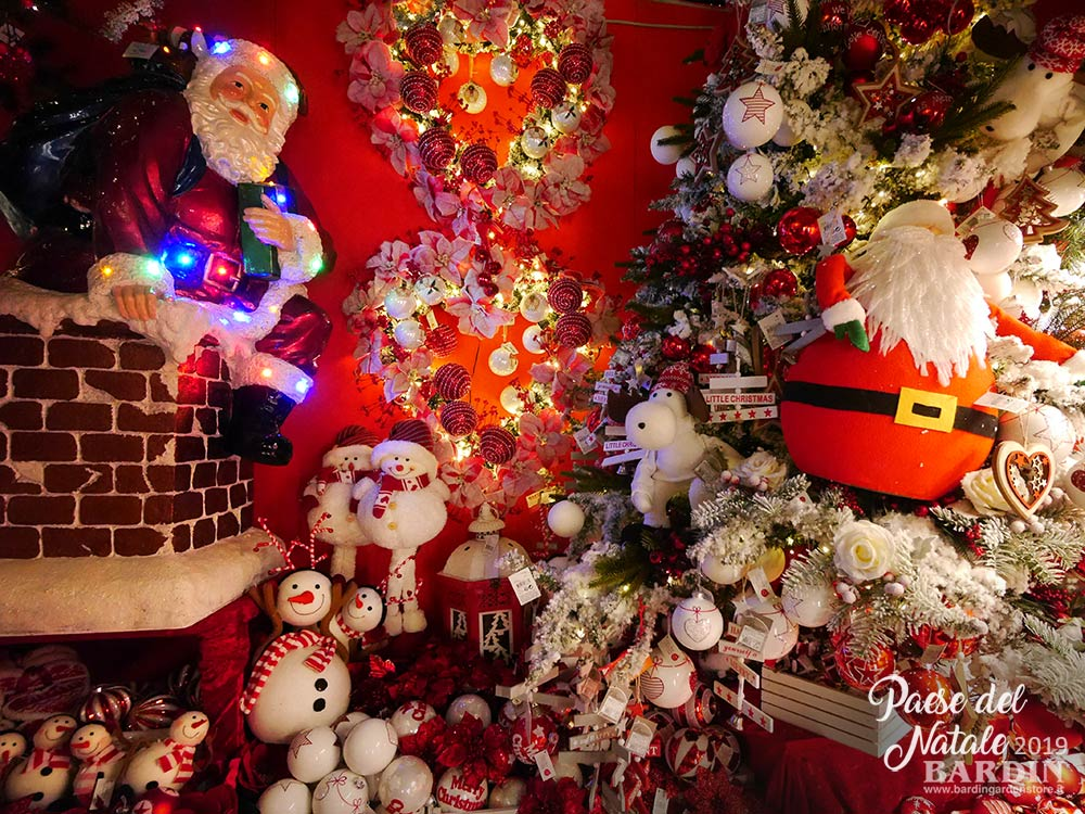 Addobbi Natale.Addobbi Natalizi Vendita A Treviso Paese Del Natale Bardin Garden Store