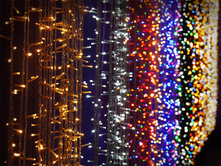 Albero Di Natale 6 Mt.Luci Di Natale E Proiettori In Vendita A Treviso Da Bardin Garden Store
