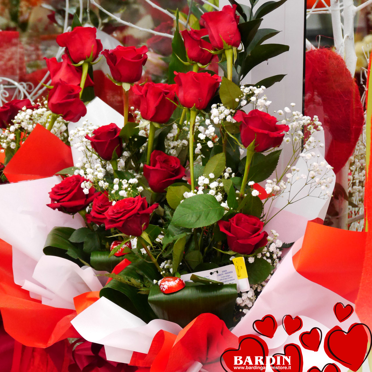 Fiori Per San Valentino.Fiori Per San Valentino A Treviso Da Bardin