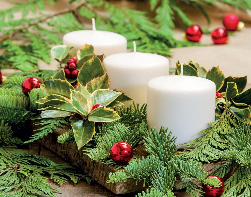 Addobbi Natalizi Centrotavola Fai Da Te.Corso Natale Fai Da Te Il Centrotavola Natalizio Bardin Garden Store